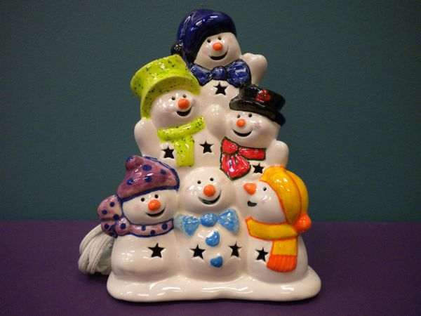 Snowman Stack Light